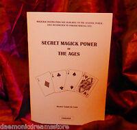SECRET MAGICK POWER OF THE AGES Finbarr Occult Magic White Black Grimoire