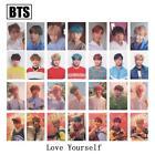 7pcs/Set BTS BANGTAN BOYS Cards J-HOPE SUGA V Love Yourself Signature Photocard