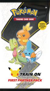 Pokemon First Partner PACK 3 Jumbo HOENN Cards +2 Booster 25th PREORDER