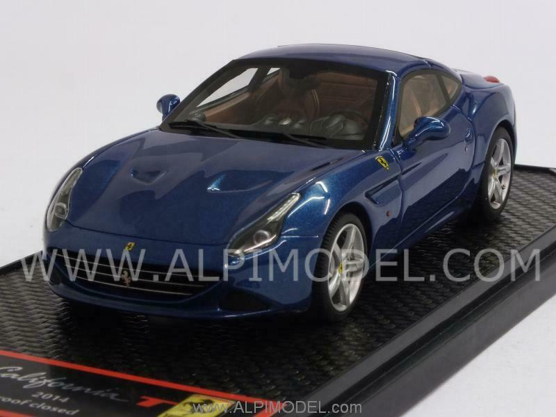 Ferrari California T 2014 closed Metallic blu 1 43 BBR BBRC140B