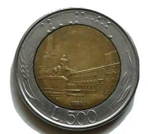 1983-ITALY-500-LIRA-COIN-BI-METALLIC