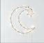 Frank and Lulu Twinkle LED moon shaped LED light decor Ramadan Lights