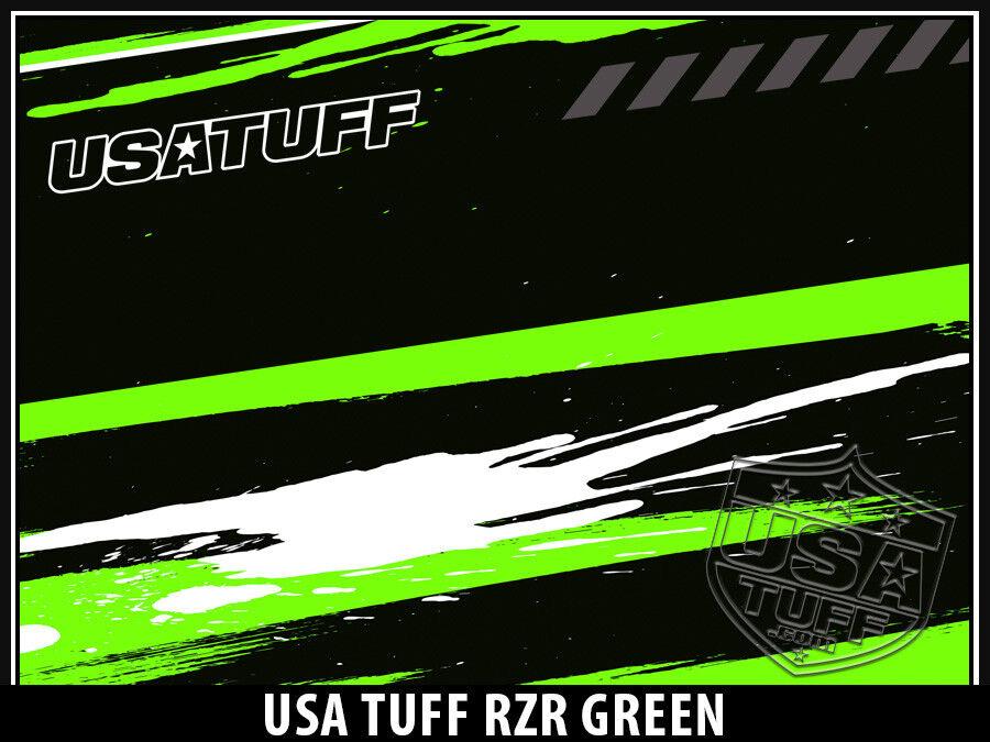 USATuff Custom Cooler Decal YETI Wrap fits YETI Decal Tundra 110qt FULL RZR SxS Grn 6243f9