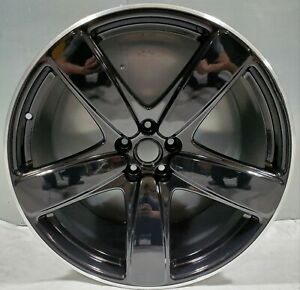 Factory Porsche Macan 21 inch Wheel Black Sport Genuine OEM 95B601025EC041 67473