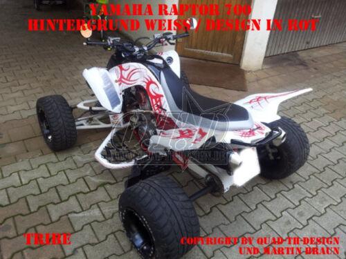 Amr racing decoración Graphic kit ATV Yamaha Raptor 125//250//350//660//700 tribe B