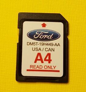 ford gps navigation a4 sd card dm5t 19h449 aa dm5t 19h44. Black Bedroom Furniture Sets. Home Design Ideas