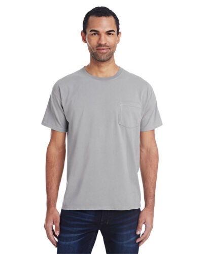 ComfortWash by Hanes Unisex Cotton Garment-Dyed T-Shirt with Pocket-GDH150