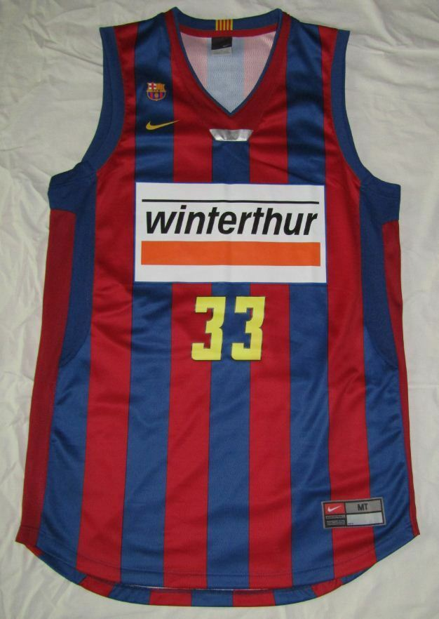Canotta Maglia basket MARC GASOL BARCELONA BALONCESTO Maglia Canotta camiseta jersey NBA FIBA 69a4c2
