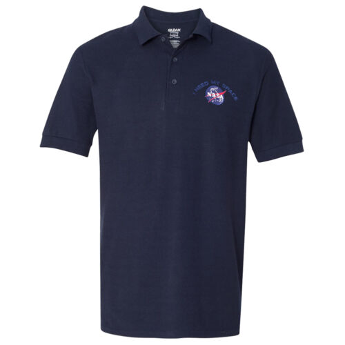 Men/'s Nasa I Need My Space Embroidered 100/% Cotton Shirt FREE SHIP