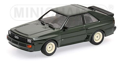 Audi Sport Quattro  Dark Green  1984 (Minichamps 1 43   400 012122)