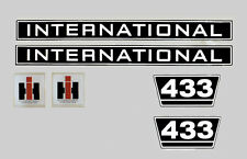 IHC Aufkleber International 433 Logo Emblem Sticker Label  52cm