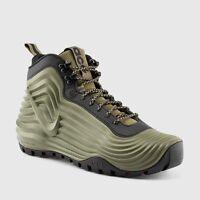 New Nike Men's ACG Lunardome 1 Sneakerboot  (654867-220)  Medium Olive/Black