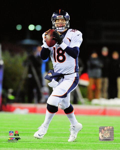 Peyton Manning Denver Broncos  Photo w/ Protective Sleeve #1478