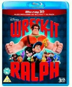 Wreck-It-Ralph-3D-Blu-Ray-2D-blu-ray-Brand-New-amp-Sealed