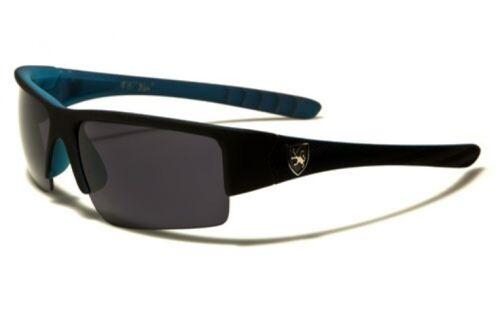 Men/'s Khan Sunglasses KN529605SFT UV400 Davis K11 flat black sunnies blue
