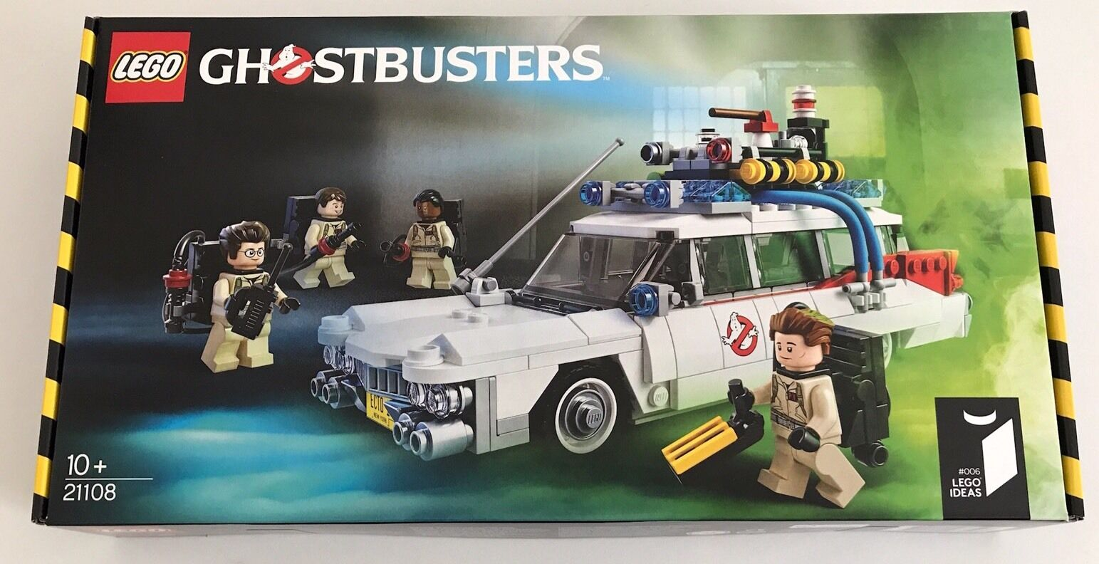 LEGO - Ideas - Ghostbusters ECTO-1 - 21108 - BRAND NEW, FREE POSTAGE