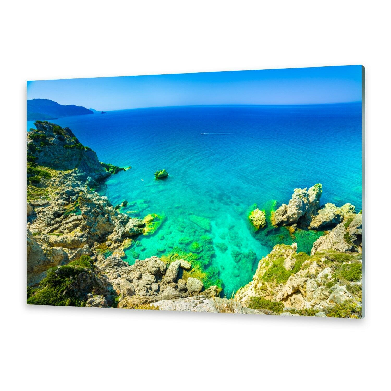 Acrylglasbilder Wandbild aus Plexiglas® Bild Corfu griechenland
