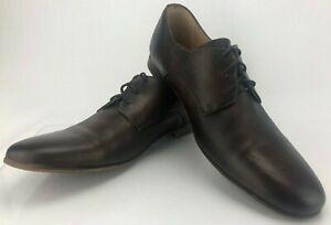 Mens Sz Marron Habillées Cuir 11 Stu Toe Chaussures Décontractées Oxfords Blucher Marron En 5 Lit HZUqPAwf