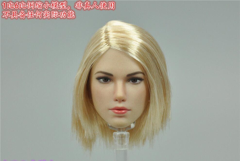 Bis 6 star mann windjacke weibliche mörder headsculpt modell für 12  weiblichen figur