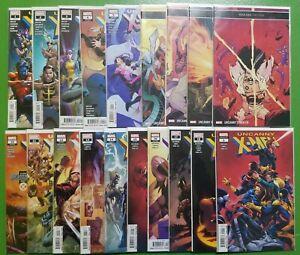Uncanny-X-Men-1-18-Annual-1-Brisson-Rosenberg-Marvel-2019-VF-NM