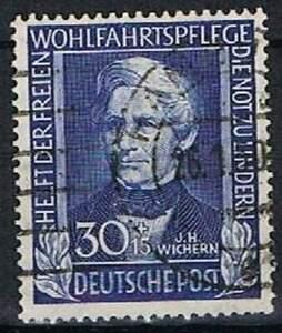 Duitsland-Bund-gestempeld-1949-used-120-Helfer-der-Menschheit-2