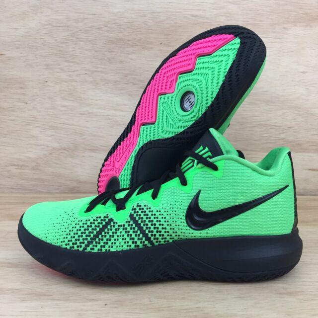 f393606149ac Nike Kyrie Flytrap Mens AA7071-300 Rage Green Black Basketball Shoes SZ 9