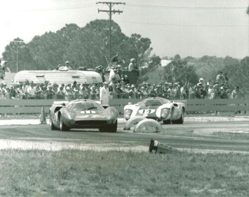 Vintage 8 X 10 1969 Sebring AIR /& Swiss Lola T70 Mk III Motor Racing Photo