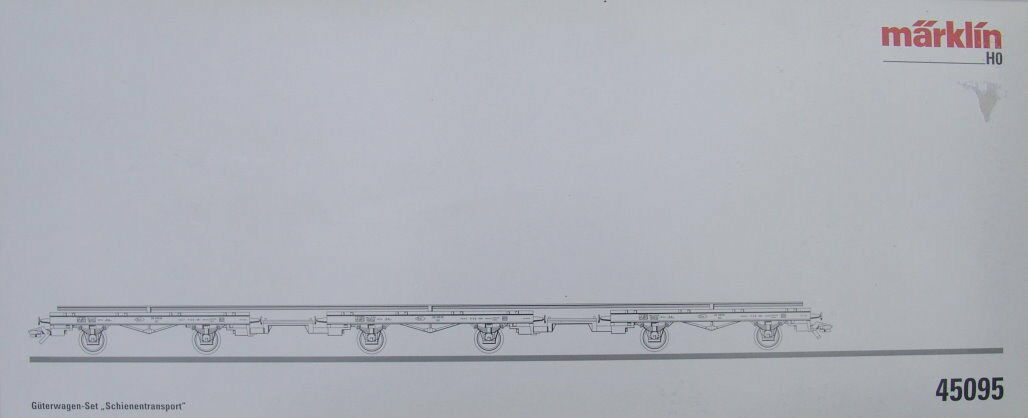 45095 carri-Set  trasporto su rotaia . i  neu in OVP