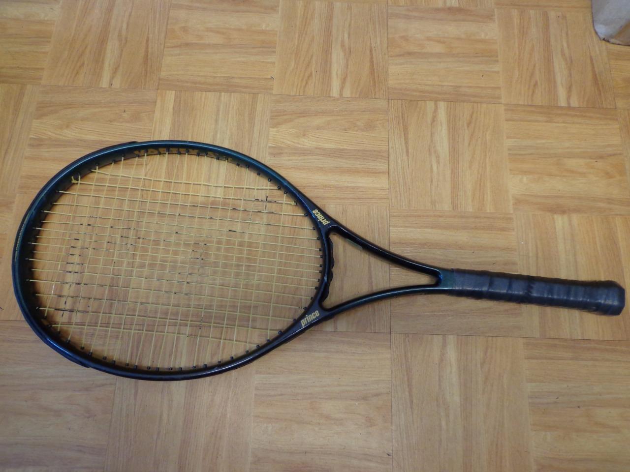El príncipe precisión Vortex 720PL 107 cabeza 4 1 4 Grip Tenis Raqueta