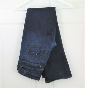 7-For-All-Mankind-Womens-Jeans-Kimmie-29-x-32-Dark-Wash-Boot-Cut-Stretch