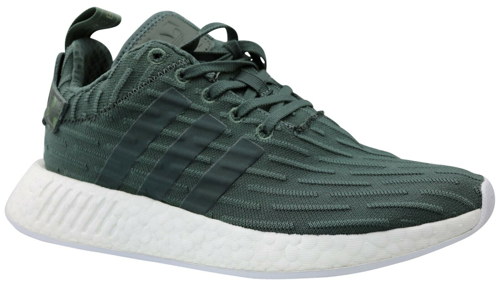 Adidas NMD R2 W Damen Turnschuhe Turnschuhe Schuhe BA7261 grün Gr. 36,5 - 42,5 NEU