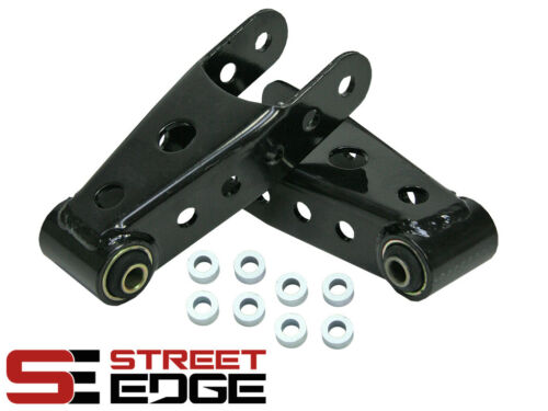 "Street Edge 07-18 Silverado//Sierra 2/""-3/"" Rear Lowering Drop Shackles Kit"