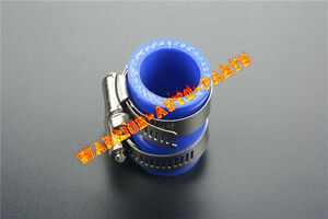 """FOR HONDA HIGH TEMP EXHAUST COUPLING CLAMP 1/"""" ID CR80 CR125 CR250 CR450 RED 1PC"""