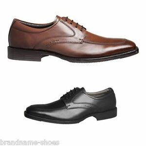 MENS-JULIUS-MARLOW-LYNX-MEN-S-BLACK-BROWN-LEATHER-WORK-LACE-UP-DRESS-SHOES