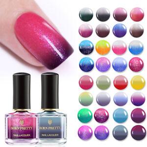 BORN-PRETTY-36-Choose-Color-Changing-Nail-Polish-Glitter-Thermal-Nails-Varnish