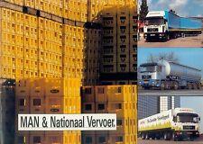 MAN & Nationaal Vervoer F 90 Prospekt NL brochure Lkw Lastwagen truck broschyr
