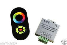 LED RGB Leiste Strip TOUCH Funk Fernbedienung 433MHz + Controller 12V 18A 216W
