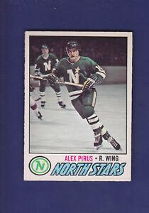 Alex-Pirus-RC-1977-78-O-PEE-CHEE-OPC-Hockey-204-EXMT-Minnesota-North-Stars