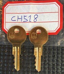 4 New keys 4 Eberhard Husky Cut 2 Your code Licensed Locksmith EM501-EM550 Key