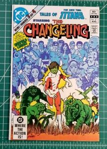 The Changling 3 Vf Nm Tales New Teen Titans Dc Garfield Logan Origins Sale Ebay