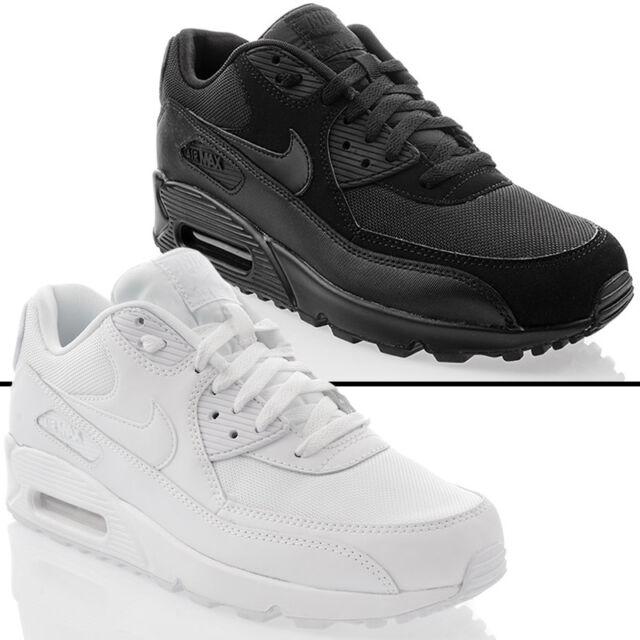 buy popular fbbcd 491cd Nuevo Zapatos Nike Air Max 90 Piel Essential Ocio Hombre Zapatillas  Deportivas