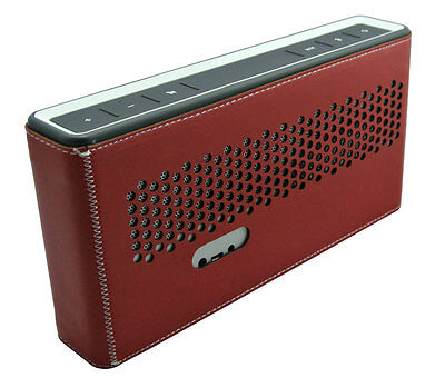 PU Leather Case Cover Bumper Skin for Soundlink III 3 Bluetooth Speaker Red