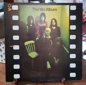 Yes The Yes Album C1971 K 40106 Lp Near Mint Ultra Rare