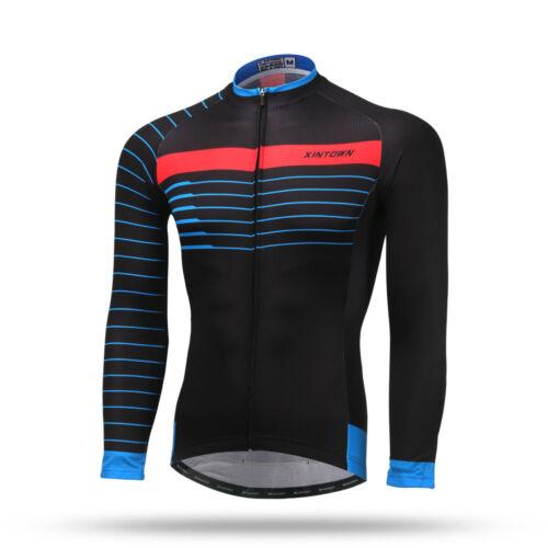 White Black Long Sleeve Sportswear Team bike Cycling Jersey Shirt ropa ciclismo