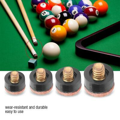 13mm billiards replacement parts 5 pool cue stick ferrules 5 screw-on tips xr