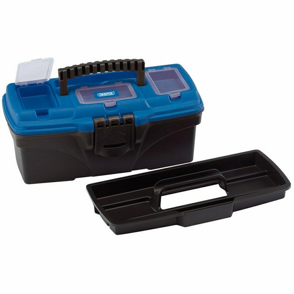 DRAPER 53875 - Tool/Organiser Box with Tote Tray, 320mm