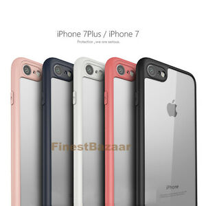 Pr-iPhone-6-7-7-PLUS-Housse-Etui-Antichocs-Coque-clair-Bumper-TPU-Case-Cover