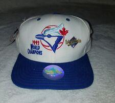VTG NEW ERA TORONTO BLUE JAYS 1992 WORLD SERIES MLB SNAPBACK CAP HAT DEADSTOCK