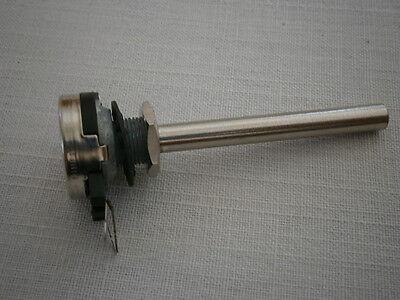 10K Log NEU 6mm Achse 21mm breit 70mm hoch für Schweller Fußschweller Poti
