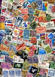 USED-lot-of-100-mixed-US-stamps-off-paper-GREAT-value-with-a-BONUS-Offer